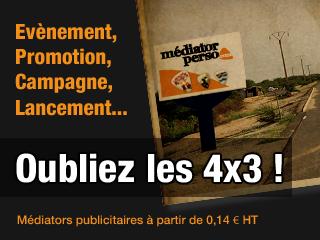 Evènement, campagne, promotion, lancement : médiators publicitaires à partir de 0,14 €