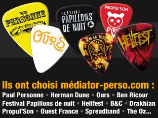 Ils nous font confiance : Paul Personne, Ours, Ben Ricour, Herman Dune...